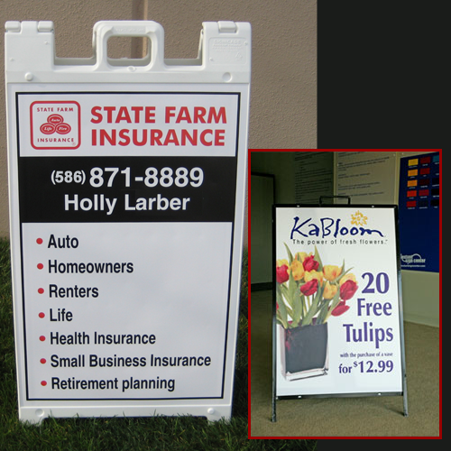 Custom A Frame Signs