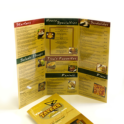 tri fold and half fold brochure printing printing by johnson mt