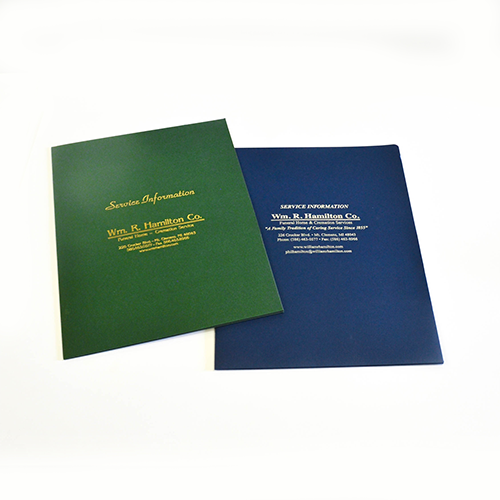 folder printing services