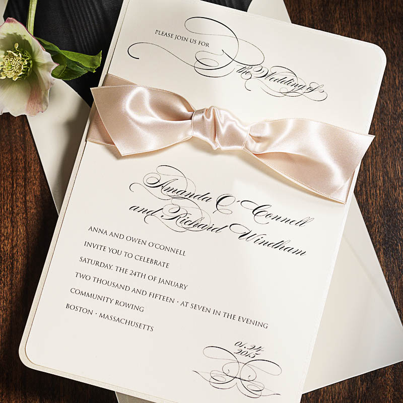 Wedding invitation printing printing by johnson mt clemens custom invitation printing stopboris Image collections