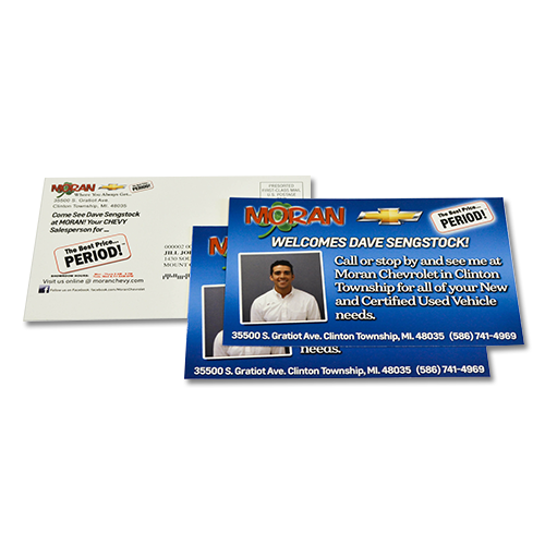 Custom Direct Mail Variable Data
