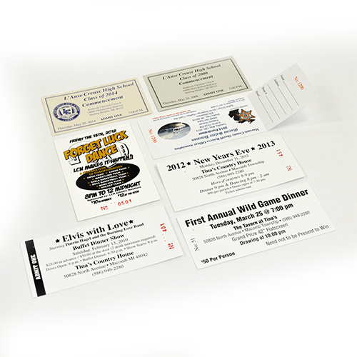 Custom Event Ticket Printing