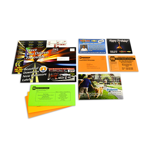 Custom Direct Mail Postcards