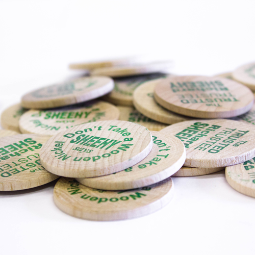 Wooden Coins