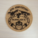 Laser Engraved Coasters